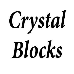 Crystal Blocks